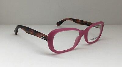 Dolce & Gabbana DD 1247 2599 Women Eyewear Optical Frame DEMO Lenses Pink (Dolce Gabbana Eyewear Frames)