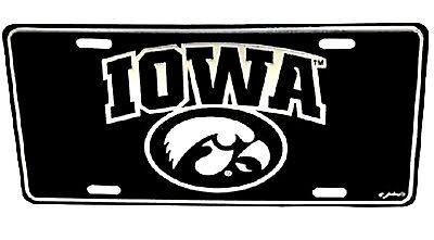 Iowa Hawkeyes Elite License Plate Iowa Hawkeyes Plate