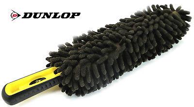 Dunlop Chenille Microfaser Rundbürste Auto Reinigungs Felgen Wasch Staub