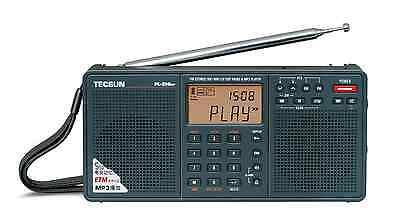 TECSUN PL398MP PLL DSP MP3 PLAYER Dual Speaker Radio    >