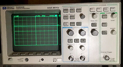 Tax Deductable Agilent Keysight Hp 54600b 100 Mhz 2 Chan Digital Oscilloscope