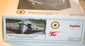herpa 554282 Indian Air Force, Mikoyan MiG-25RU, No 102 Squadron