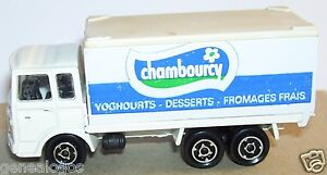 majorette truck camion saviem chambourcy yoghourt dessert fromage 1 100 ref 22e ebay. Black Bedroom Furniture Sets. Home Design Ideas