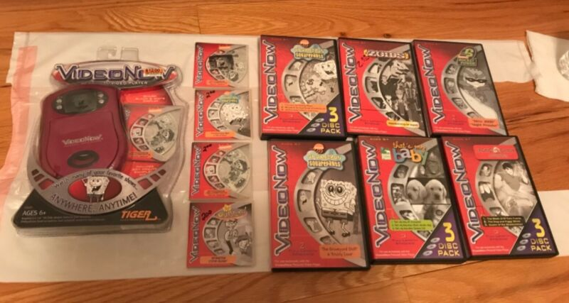 BRAND NEW Video Now VideoNow Red System with 16 used Discs