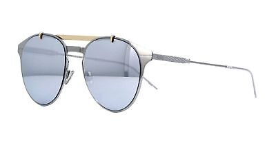 New Christian Dior Homme MOTION 1 6LB/DC Ruthenium Light Gold Sunglasses