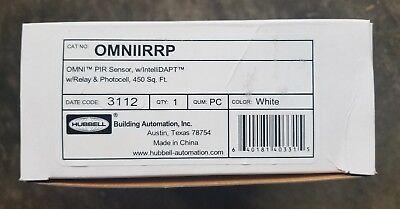 Hubbell Omniirrp Pir Sensor