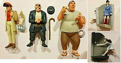 OFFER 4x Figures Yujin Ashita No Joe Rocky Joe set of figures