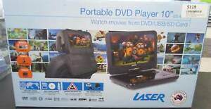 "LASER PORTABLE DVD PLAYER 10"" Miller Liverpool Area Preview"