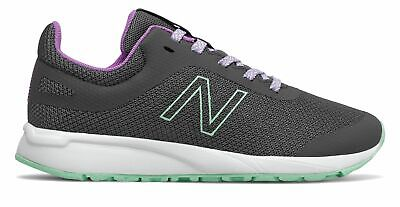 New Balance Kid's 455v2 Big Kids Female Shoes Grey with Purple