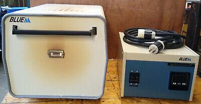 Lindberg Blue M 1200c Box Burnout Furnace Bf51442c Controller Cc58114a 240v 1ph