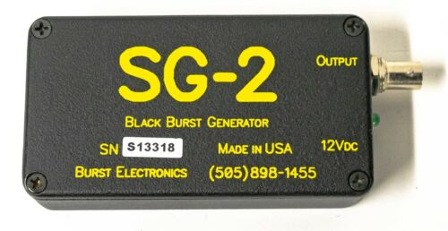 Burst SG-2 NTSC Composite Black Burst Generator