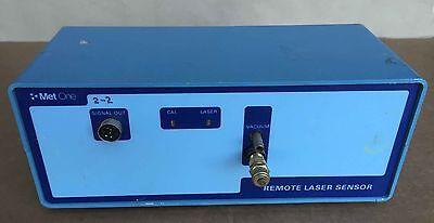Met One 202 Remote Laser Sensor Air Particle Counter Cleanroom Air Testing 15vdc