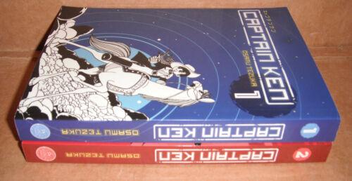 Captain Ken Vol.1,2 Manga by Osamu Tezuka Graphic Novels English