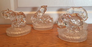 Collectible Glass Figurines, Mothers with Babies