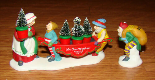 Heritage Village Accessory, Delivering the Christmas Greens (Dept. 56,  56373)