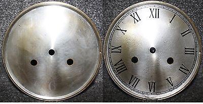 "Vintage 6"" clock face/dial Roman numeral restore/renovation wet transfer system"