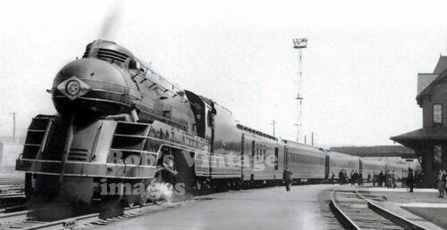Lehigh Valley railroad train photo Black Diamond steam Locomotive Art Deco
