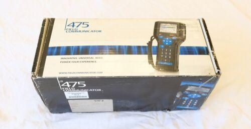 Emerson Hart Field Communicator Model 475 w/ Bluetooth & Fieldbus - Clean