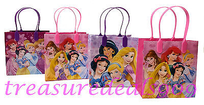 DISNEY PRINCESS 30 PC NEW GOODIE BAGS PARTY FAVORS CANDY LOOT TREAT BIRTHDAY BAG (Princess Goodie Bags)