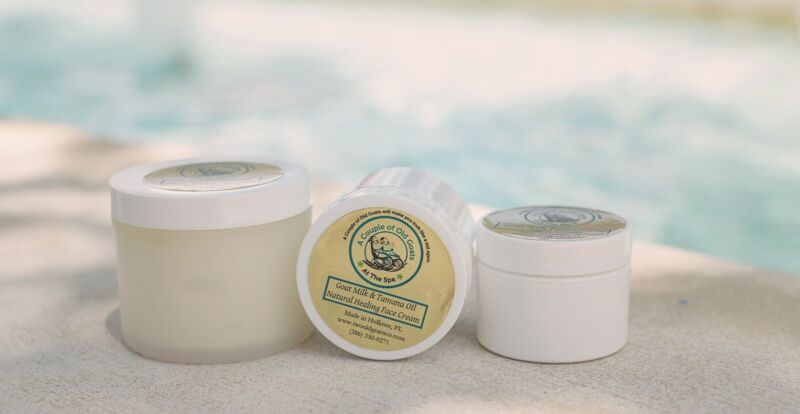 Goat Milk & Tamanu Oil Healing Face Cream