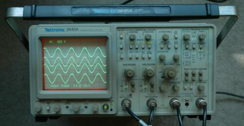 Tektronix 2445A Four Channel 150 MHz Oscilloscope, Works Great! Fully tested