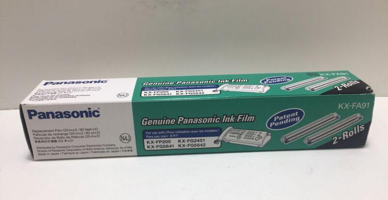 Panasonic Ink Film KX-FA91 2 Rolls_replacement Film