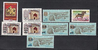 Tadjikistan Tadschikistan MNH** 1992 Mi.1-7b complete Year Set