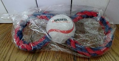ST LOUIS CARDINALS DOG TOY, PURINA / BUSCH STADIUM GIVE AWAY, NEW