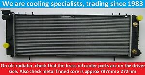 BRAND NEW RADIATOR JEEP CHEROKEE MK2 XJ 1990 TO 2001 4.0 PETROL