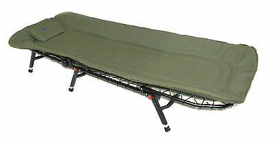 BISON BEDCHAIR FISHING OR CAMPING 6 ADJUSTABLE LEGS