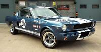 1966 Ford Mustang 4.7 V8 289 Manual Shelby GT350 Fastback