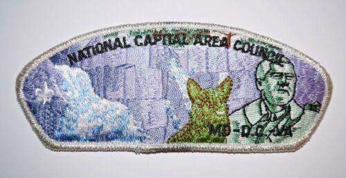 National Capital Area Council- FDR Memorial (Version 1) -Council Shoulder Patch