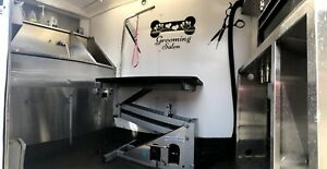 Fully Equipped Grooming Trailer For Sale
