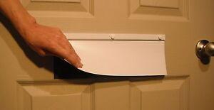 Energy Efficient Magnetic Mail Slot Door   Draftless