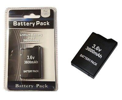 3600mAh Akku für Sony Playstation Portable PSP 1000 1004 PSP-110 Batterie Accu