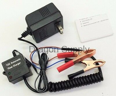 12v Ac Auto Batteries - New 12V Volt Automatic Car Battery Float Trickle Charger Car, Boat. AC Charger