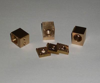 Brass Diy 9mm Laser Diode Mount Housing Fit M9x0.5mm Lens Holder 1pcs
