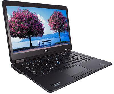 Dell Laptop Ultrabook Latitude E7440 256Gb Solid State 16Gb Core I7 New Battery