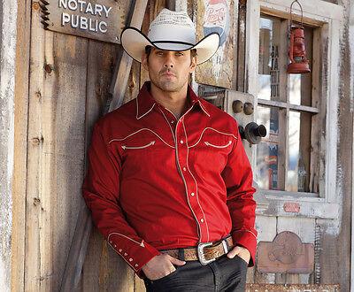 Stars & Stripes Herren Westernhemd Jack Red Westernmode & Westernbekleidung online kaufen