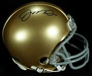 Joe Montana Signed Mini Helmet
