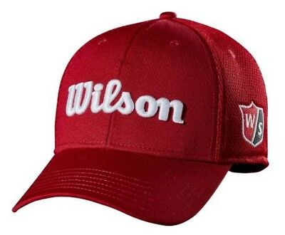 Wilson Tour Full Mesh Hat Cap Relaxed Fit Golf Baseball Color Choice WGH6100 Tour Fit Cap
