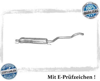 Mittelschalldämpfer Opel Zafira A B 1.6 1.8 2.2 ab Bj.06.2003 Auspuff Mitteltopf