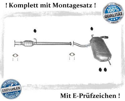 Auspuffanlage Kia Sportage 2.0 104KW 4WD Bj.04-08 Auspuff + Montagesatz