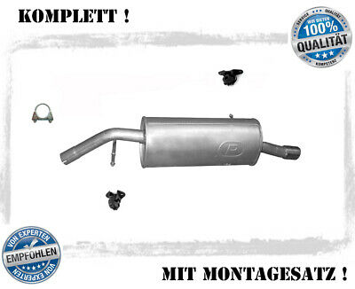 Auspuff Peugeot 107 1.0i 12V 50kW Mittelrohr NEU!!!