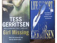 Tess Gerritsen books, 25p - £1