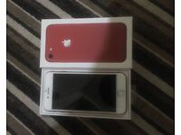iPhone 7 128gb red brand new !!!!!