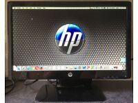 20 inch LED Widescreen HP 2011x 19 LCD Flat screen Monitor with DVI VGA