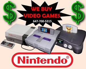 Wanted: BUYING OLD VIDEO GAMES $$$