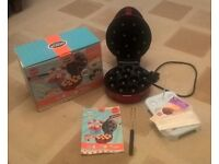 * * * American Cake/Pop Maker in Red with all accessories - All in Original Box * * *