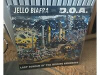 Jello Biafra with D.O.A. - Last Scream of the Missing Neighbors (includes lyric sheet insert)